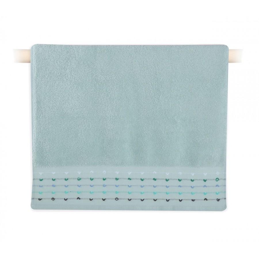 Πετσέτα Προσώπου Spot Aqua 50x90
