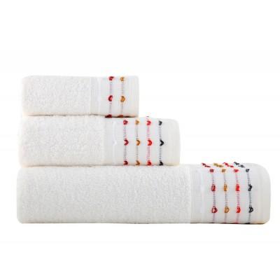 Πετσέτα Προσώπου Spot Ecru 50x90