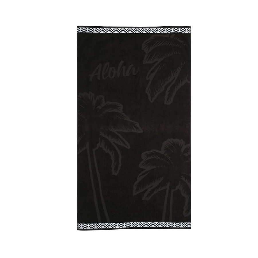 Πετσέτα Θαλάσσης Aloha 80X160 Black