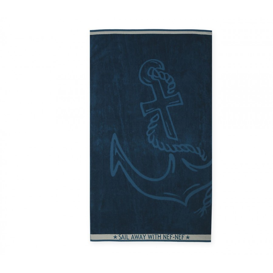 Πετσέτα Θαλάσσης Anchor 80X160 Blue
