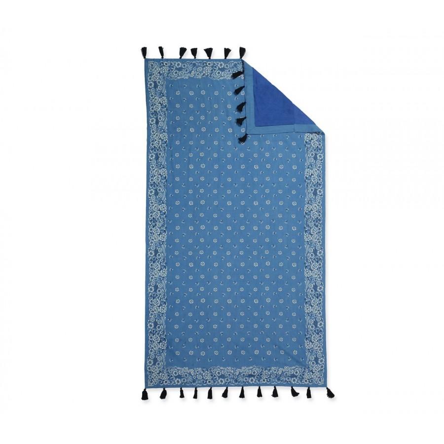 Πετσέτα Θαλάσσης Bandana Blue 90X170
