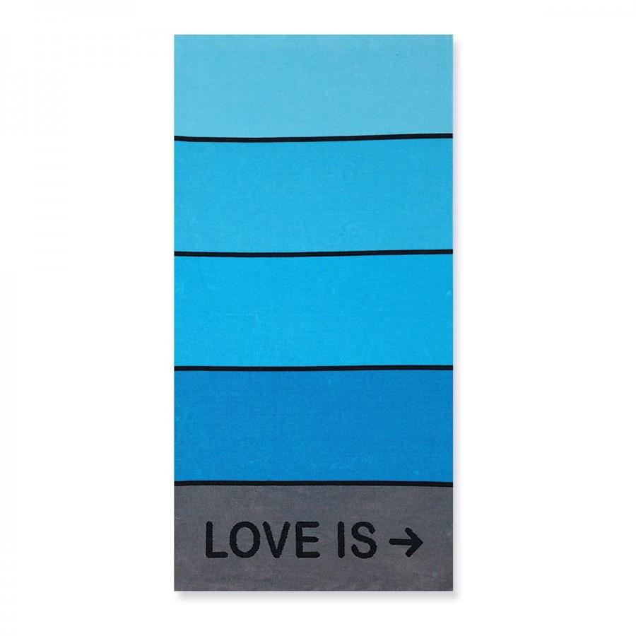 Πετσέτα Θαλάσσης Love is Jean 80X160