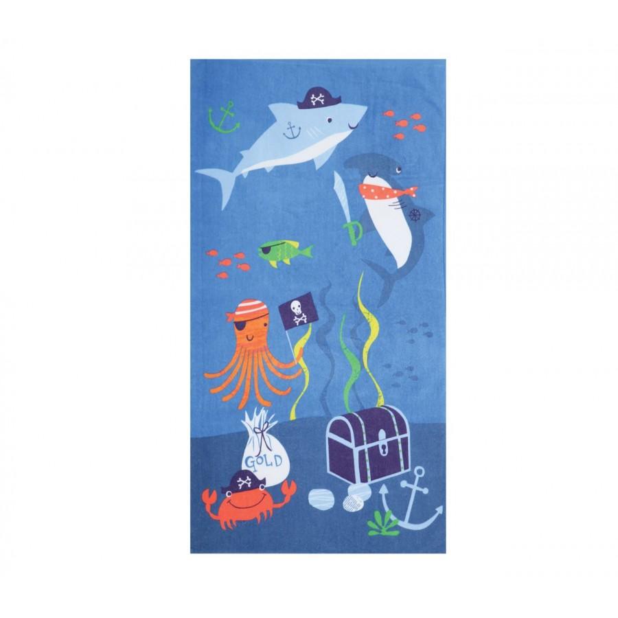 Πετσέτα Θαλάσσης Παιδική Sea Bed 70X120