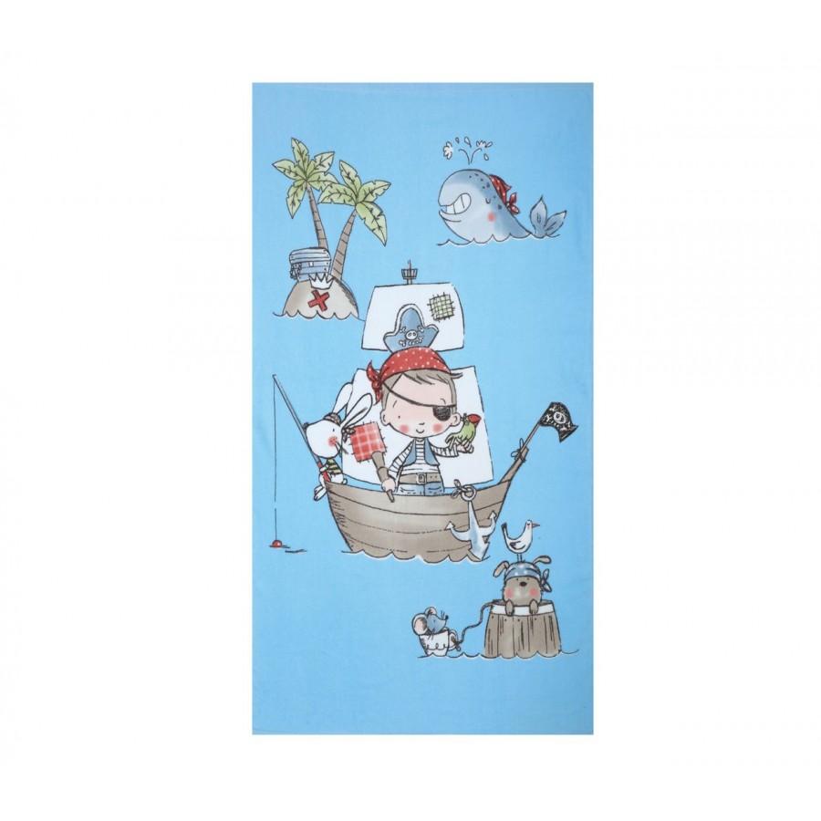 Πετσέτα Θαλάσσης Παιδική Treasure Island 70X120