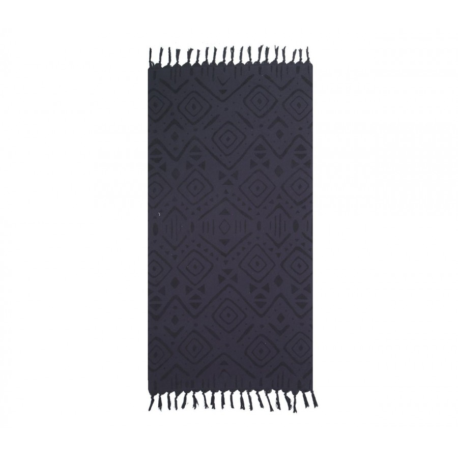Πετσέτα Θαλάσσης True 90X170 Black