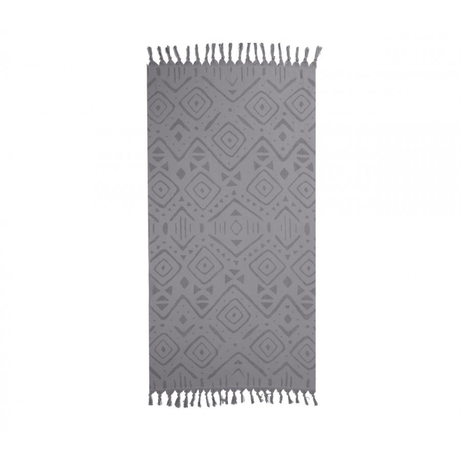 Πετσέτα Θαλάσσης True 90X170 Grey