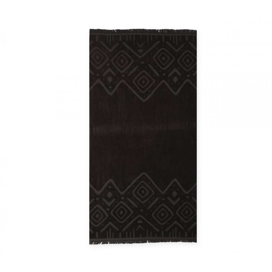 Πετσέτα Θαλάσσης True Embossed 80X160 Black