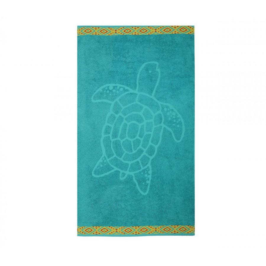 Πετσέτα Θαλάσσης Turtle 70X120 Petrol