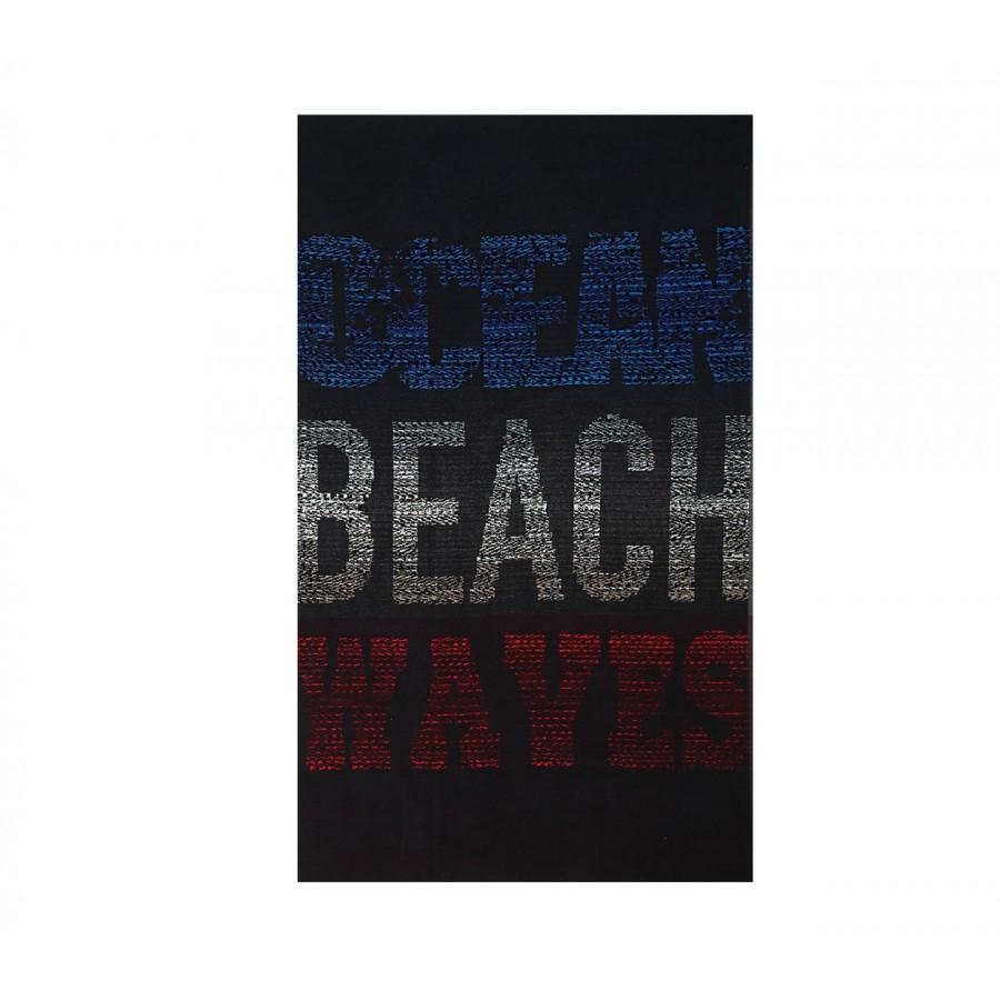 Πετσέτα Θαλάσσης Βαμβακερή Beach Waves 100X180