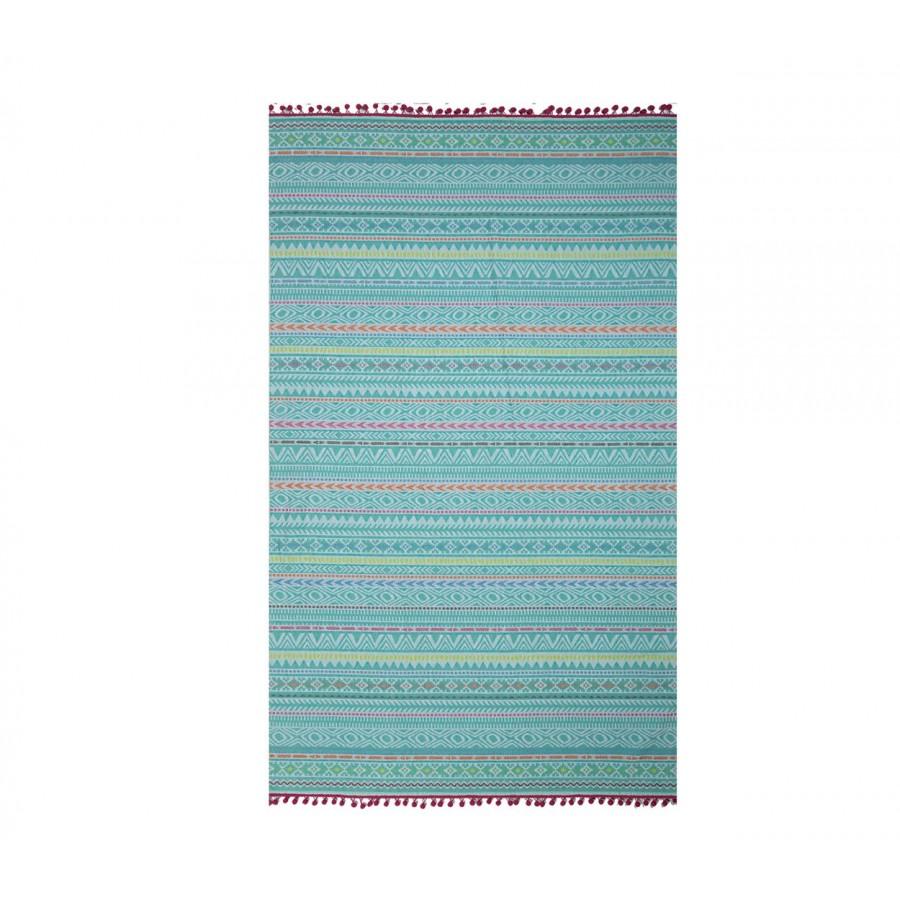 Πετσέτα Θαλάσσης Βαμβακερή Drawings 100X180