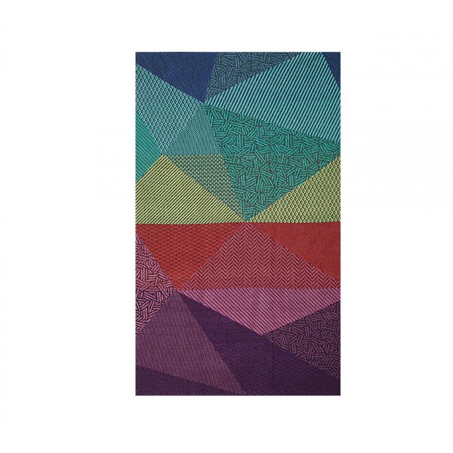 Πετσέτα Θαλάσσης Βαμβακερή Triangles 100X180