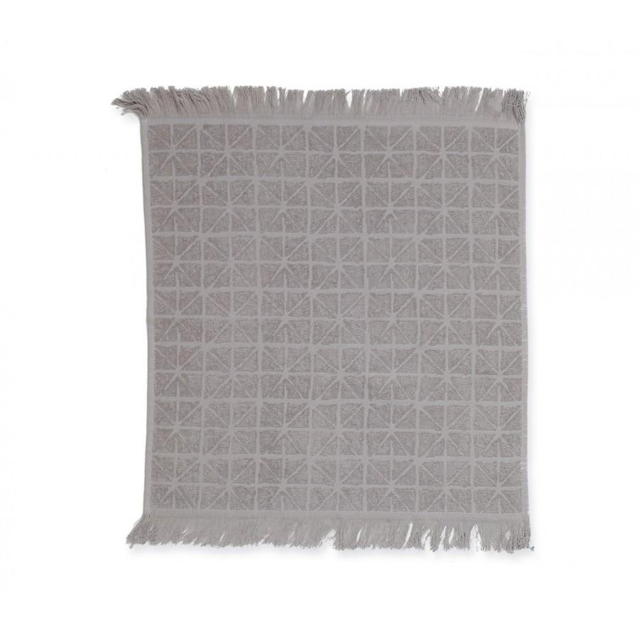 Ποτηρόπανο Πικέ Terry-Pike Astra Grey 50x50