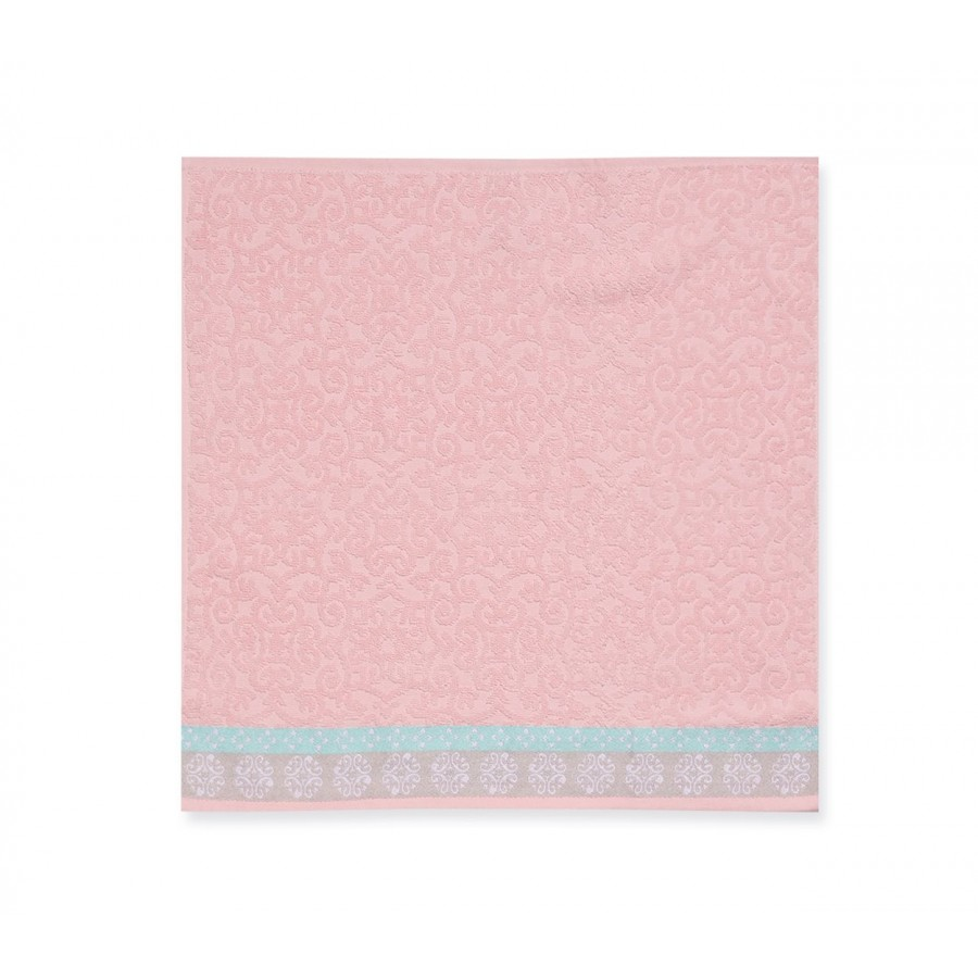 Ποτηρόπανο Πικέ Terry-Pike Donanim Pink 50x50