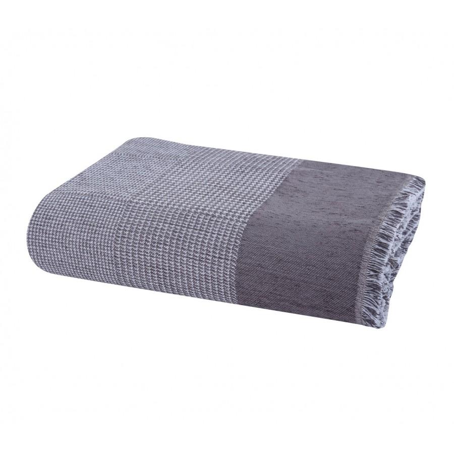 Ριχτάρι Διθέσιου Καναπέ Cardiff Grey Nef-Nef  170X250