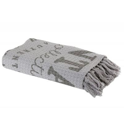 Ριχτάρι Πολυθρόνας Vintage Grey 130x170