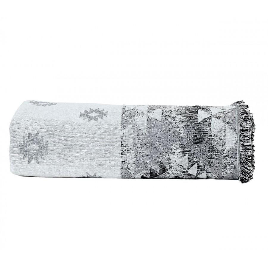 Ριχτάρι Τριθέσιο Tepic Ecru/Black 170x300