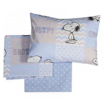 Σεντόνια Κούνιας Nef Nef Snoopy Patch Nef Nef 120x170