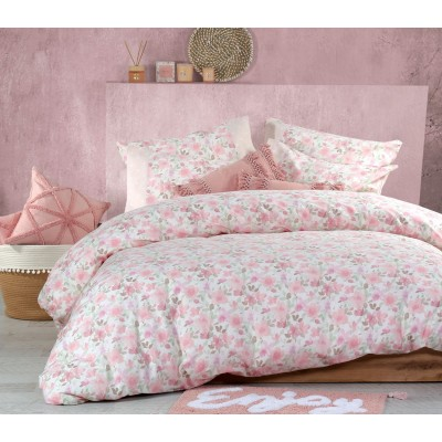 Σεντόνια Μονά Σετ Elsa Pink 170x260