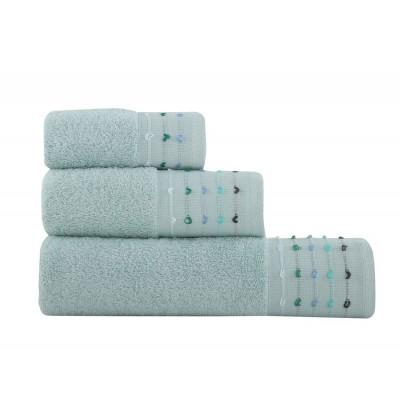 Σετ Πετσέτες 3 τμχ Spot Aqua 30x50 - 50x90 - 70x140