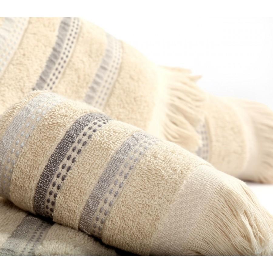 Σετ πετσέτες Μπάνιου Nef-Nef Limit Beige