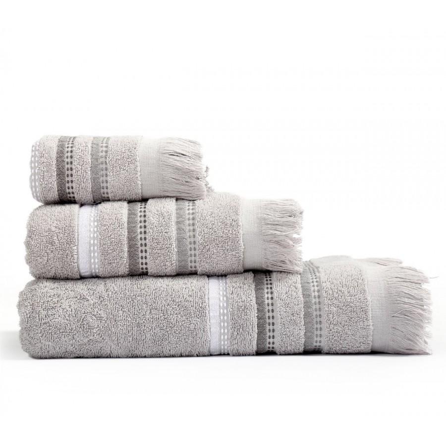 Σετ πετσέτες Μπάνιου Nef-Nef Limit Grey