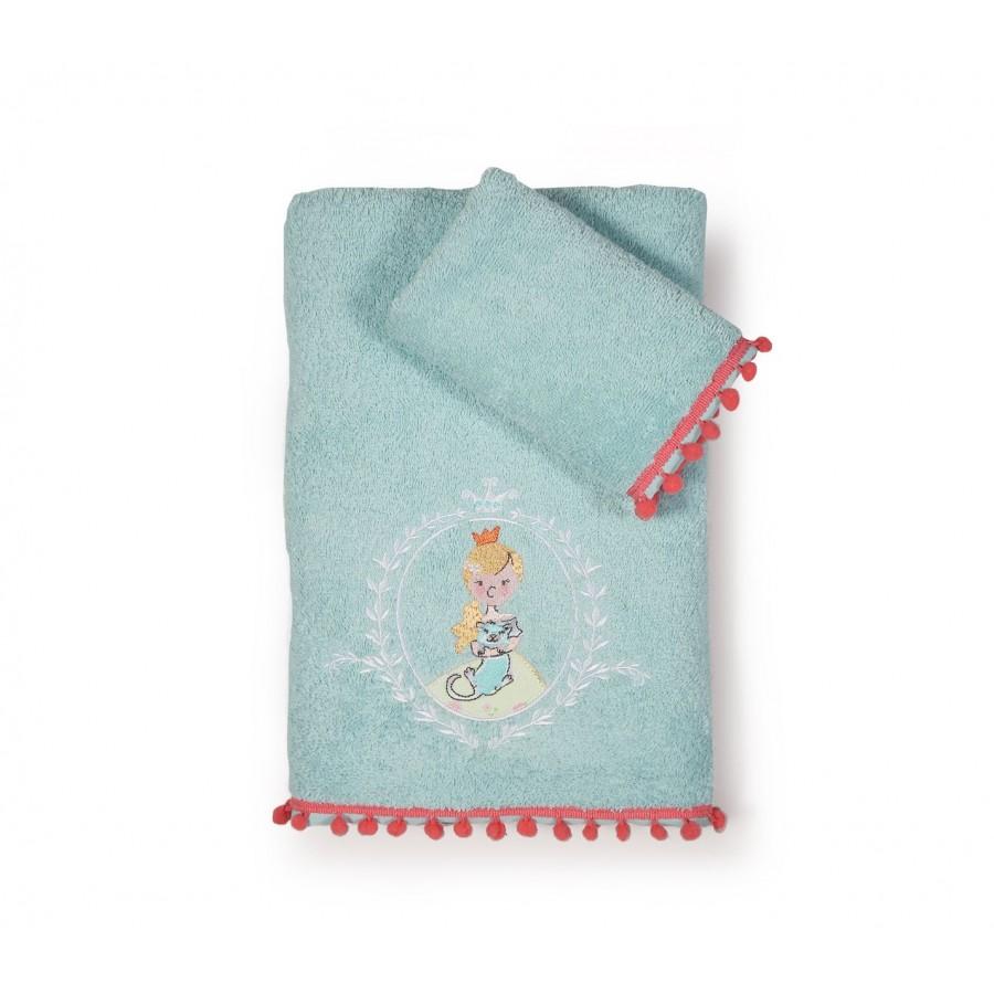Σετ Πετσέτες Παιδικές Princess Day  Nef-Nef  30X50 - 70X140