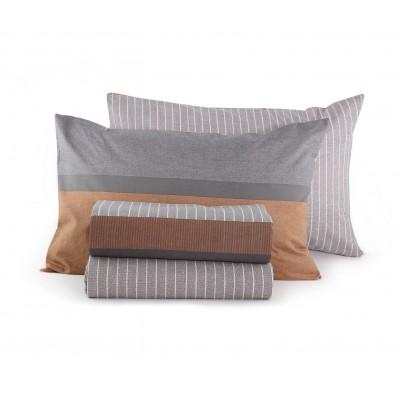Σετ Σεντόνια Διπλά Brut Grey Nef-Nef  200x260