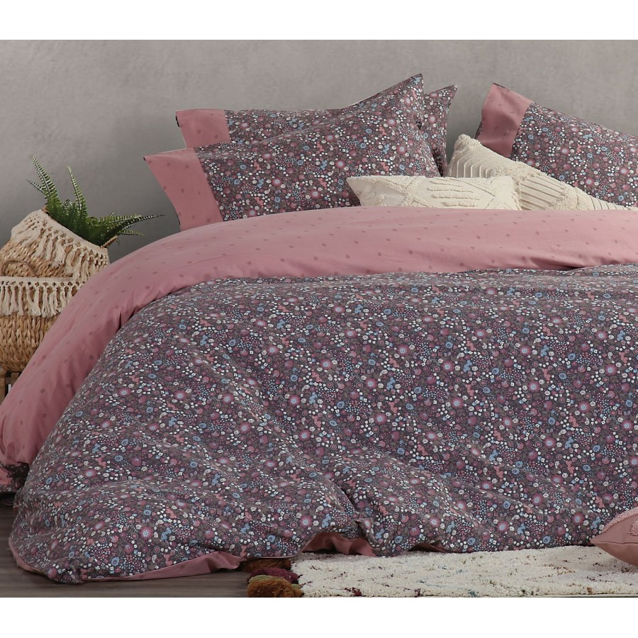 Σετ Σεντόνια Υπέρδιπλα Fresli Pink Nef-Nef  240x260