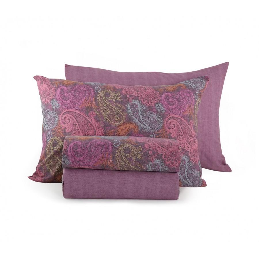 Σετ Σεντόνια Μονά Ledicia Purple Nef-Nef  170x260