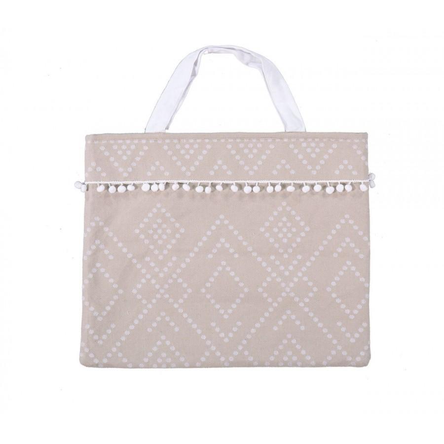 Τσάντα Θαλάσσης Nef Nef Sredor Grey Nef-Nef 45X55