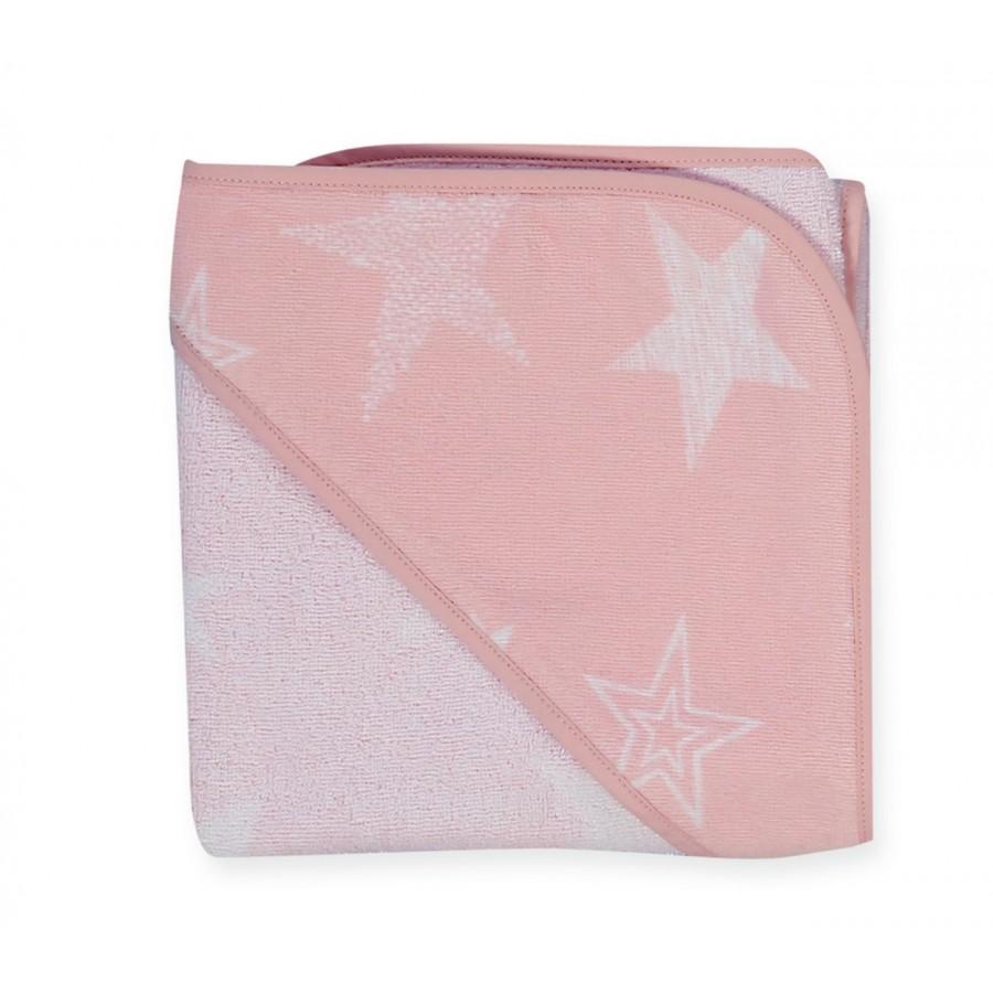 Βρεφική Κάπα Moon Pink 75x75