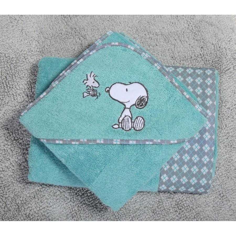 Βρεφική Κάπα Snoopy Happiness  Nef-Nef  75X75