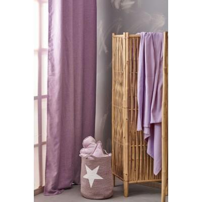 Κουρτίνα Cindy Lilac Palamaiki 140X260