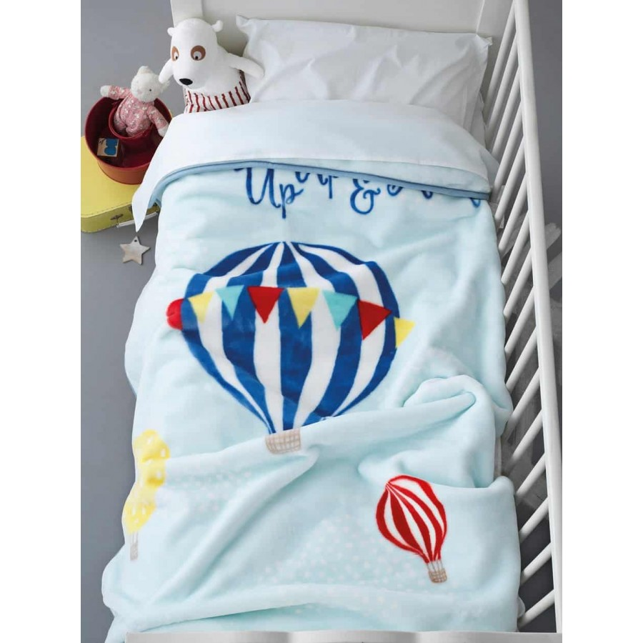 Κουβέρτα κούνιας Βελουτέ bv-715 110X140 Palamaiki