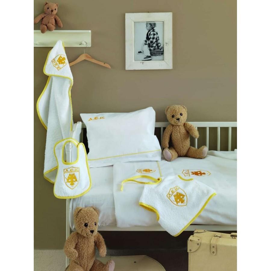 Κουβέρτα βρεφική ΑΕΚ 120X150 Palamaiki