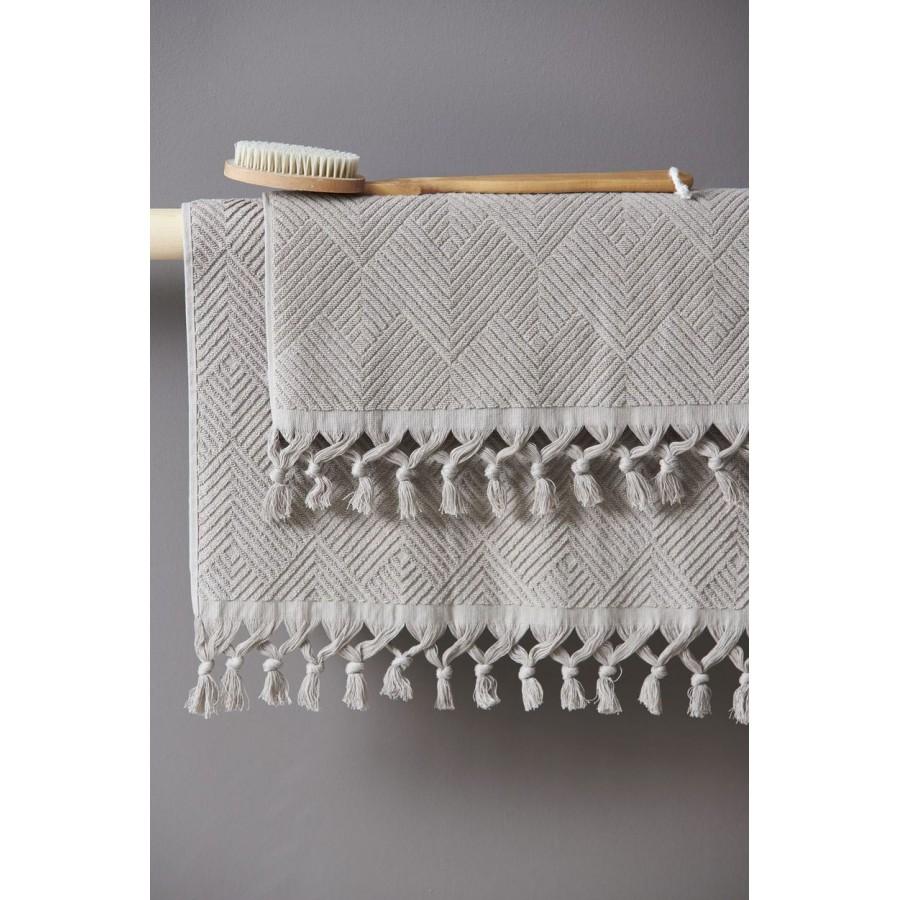 Πετσέτα Προσώπου Vicko Taupe Palamaiki 50X90
