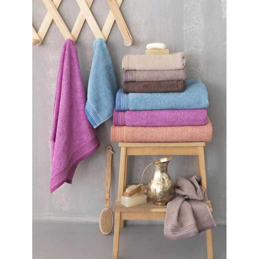 Πετσέτες χεριών louna Κοραλί 30X50 Palamaiki