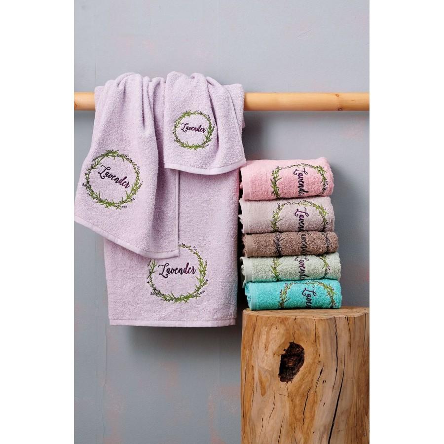 Πετσέτες Σετ Laura Turquoise Palamaiki 30X50 - 50X90 - 70X140