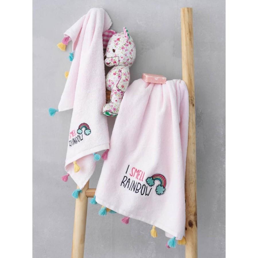 Σετ Παιδικές Πετσέτες rainbow 40X60 - 70X140 Palamaiki