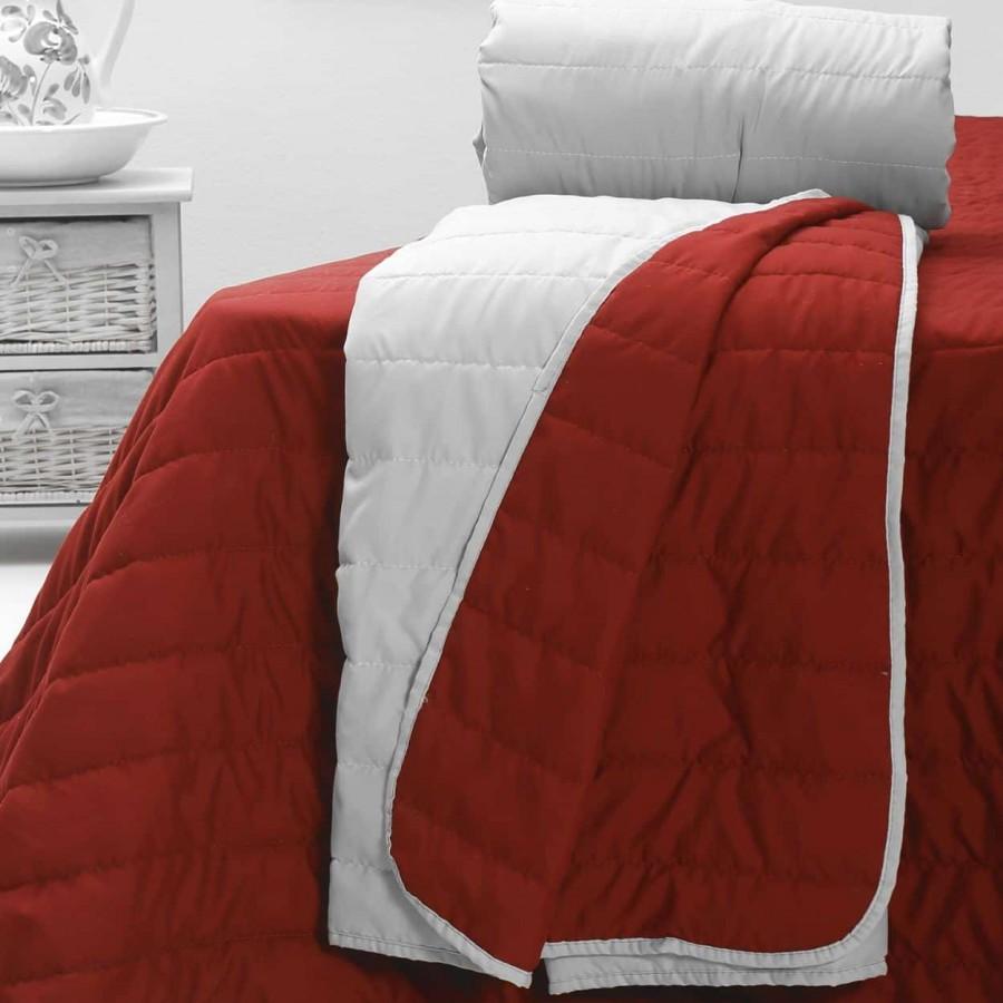 Κουβερλί 220X250 Μονόxρωμο Cool Summer Red
