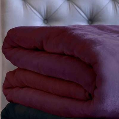 Κουβέρτα Velour 220X240 Χρώμα Tyrol Purple