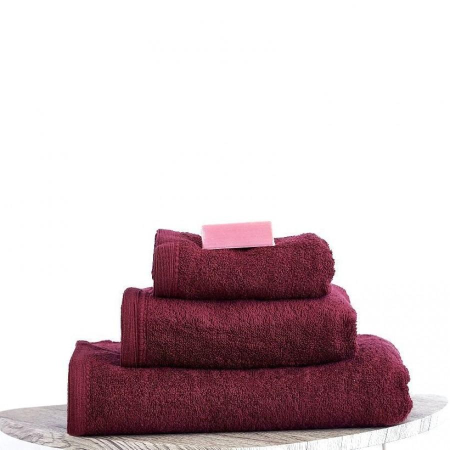 Πετσέτα Μπάνιου 100x150 Primus Bordo