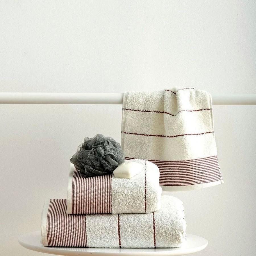 Πετσέτα Μπάνιου 70x140 Gary Cream