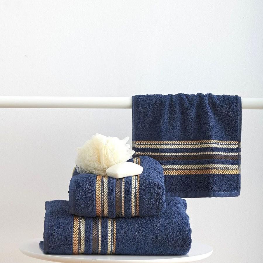Πετσέτα Μπάνιου 70x140 Timothy Navy