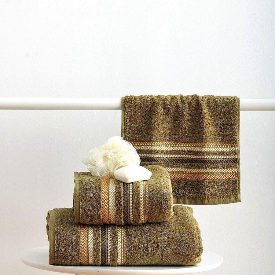 Πετσέτα Μπάνιου 70x140 Timothy Olive