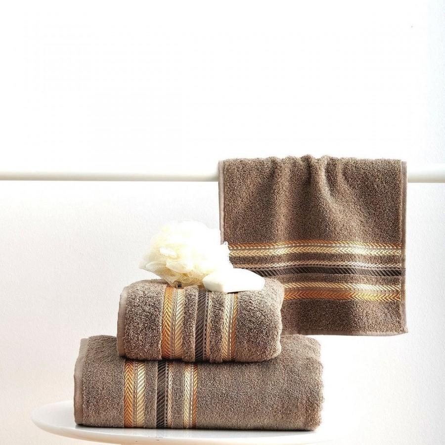 Πετσέτα Μπάνιου 70x140 Timothy Taupe