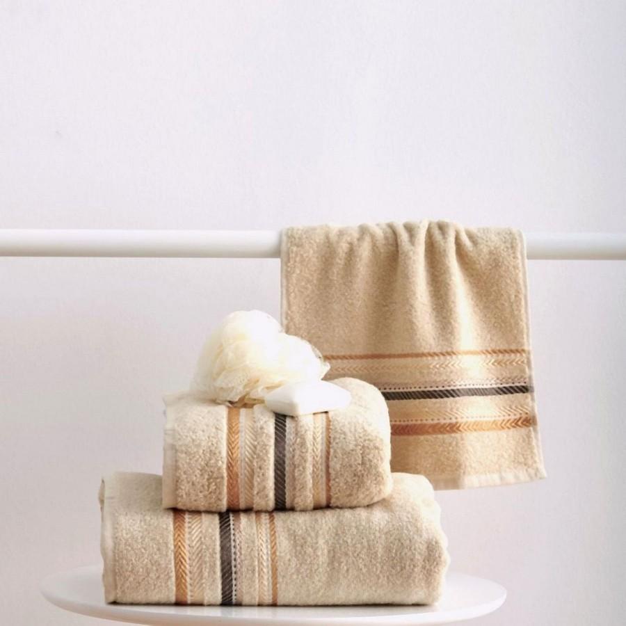 Πετσέτα Χεριών 30x50 Timothy Cream