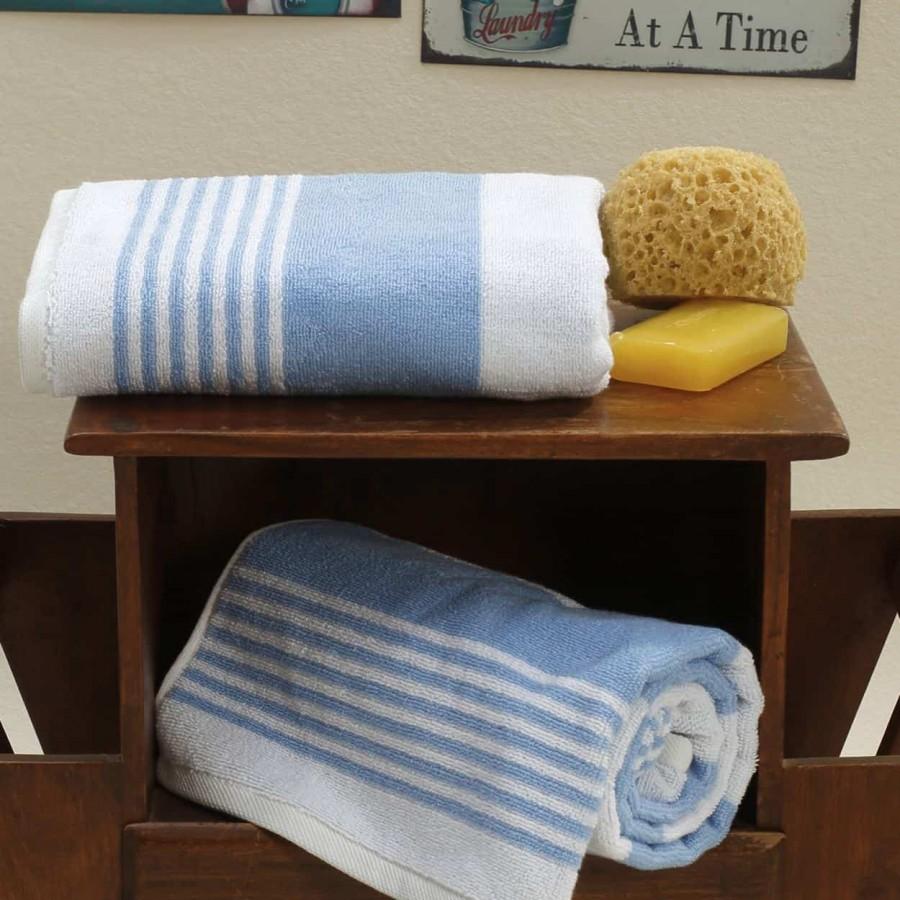 Πετσέτα Προσώπου 50Χ100 Lida Blue