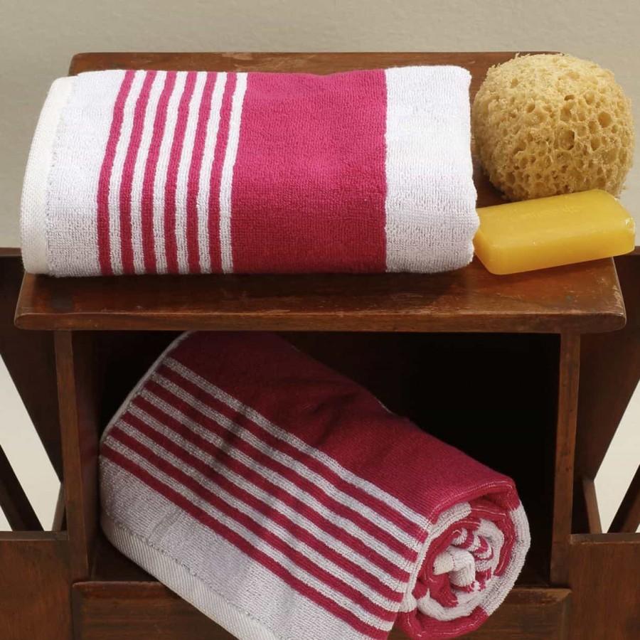 Πετσέτα Προσώπου 50Χ100 Lida Fuschia