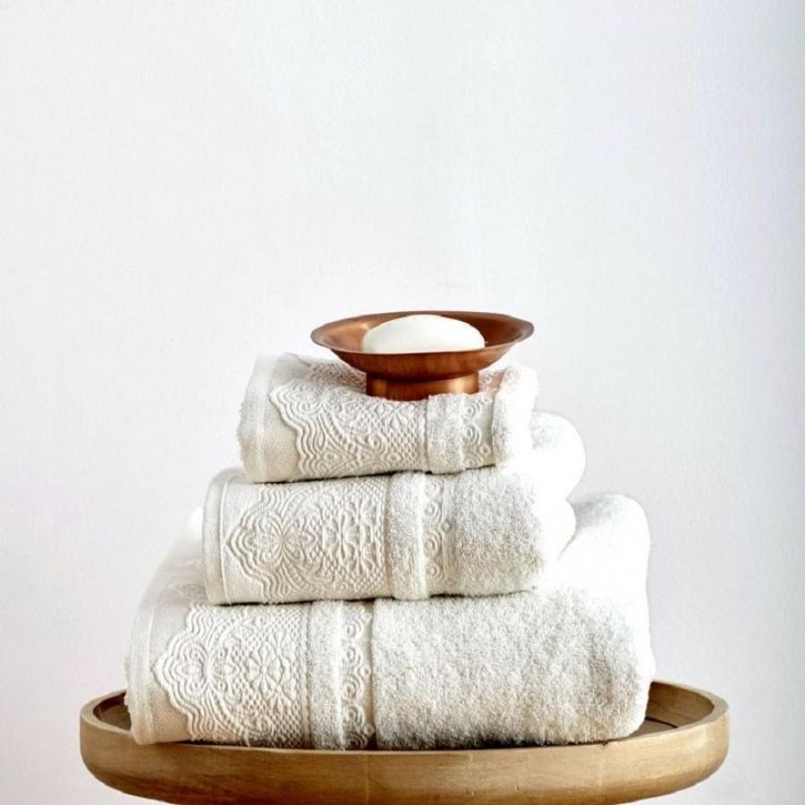 Πετσέτα Προσώπου 50x90 Felix Ivory